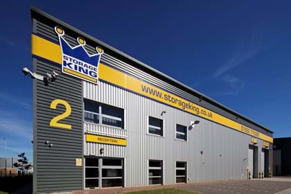 View of the outside of Storage King - Aylesford