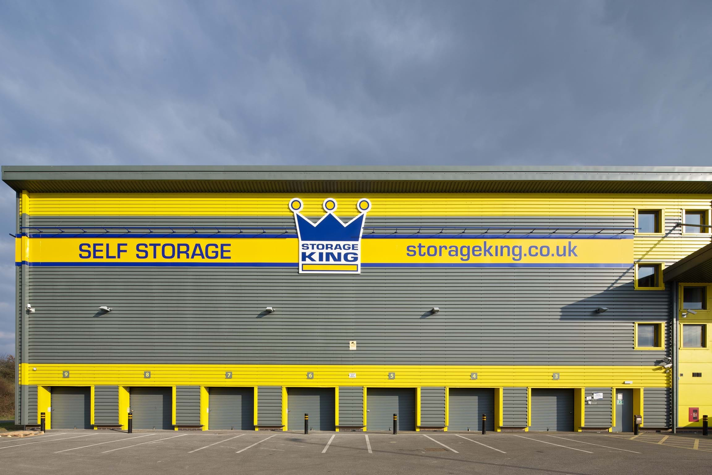 Self Storage Units Facilities Solutions Derby Uk Storage King