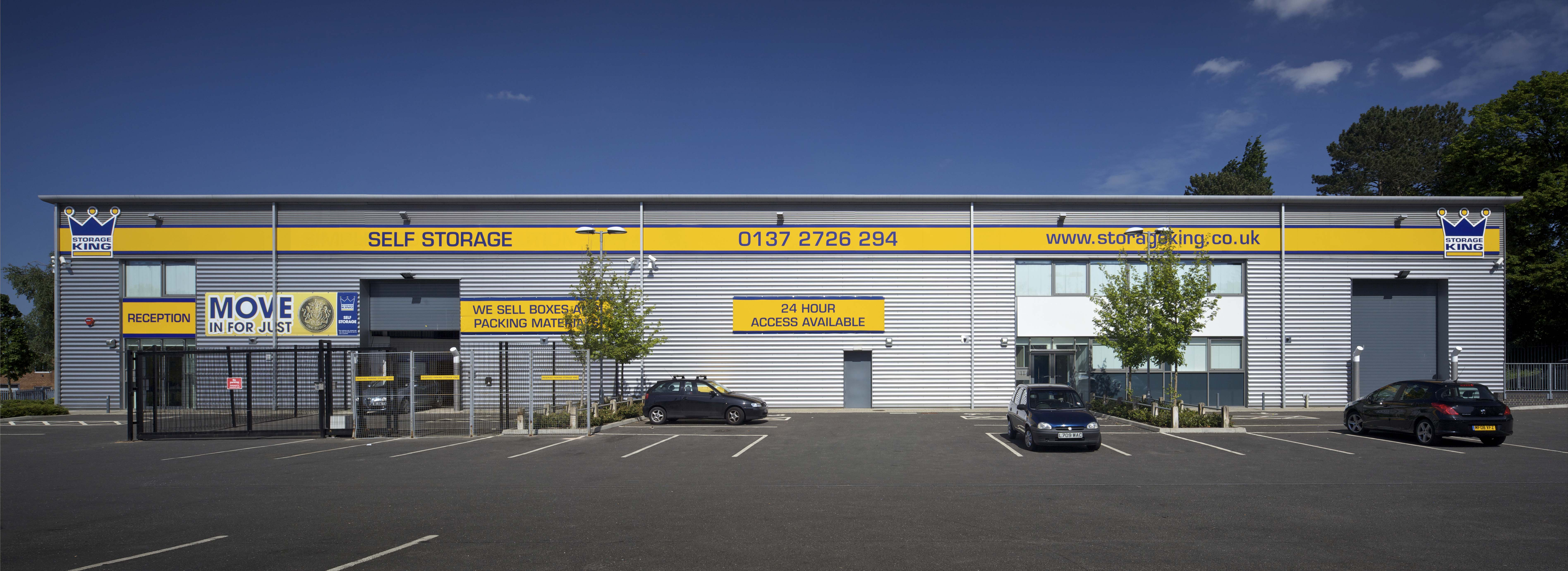 find secure storage for motor vehicles in west bromwich