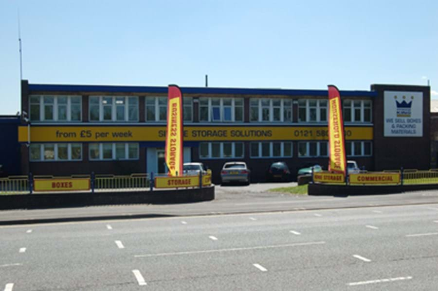 Self Storage Units Facilities Solutions West Bromwich Uk