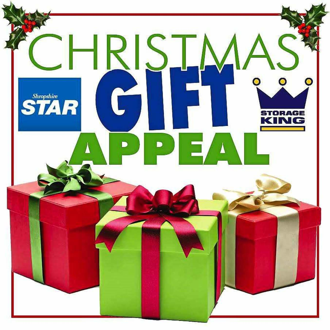 Christmas Gift Appeal: Storage King Shrewsbury Appeal For Christmas Gifts