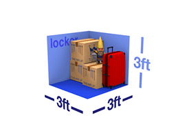 locker size