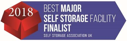 SSA UK 2018 Major Finalist Self Storage Facility