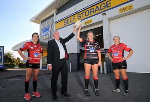 Storage King Gloucester Rugby Partnership